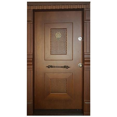 درب ضد سرقت دو قاب ترک